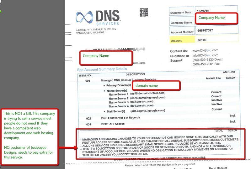 DNS Services SEO Companies Austin Josiesque Designs