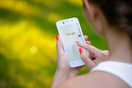 Google mobile search on phone