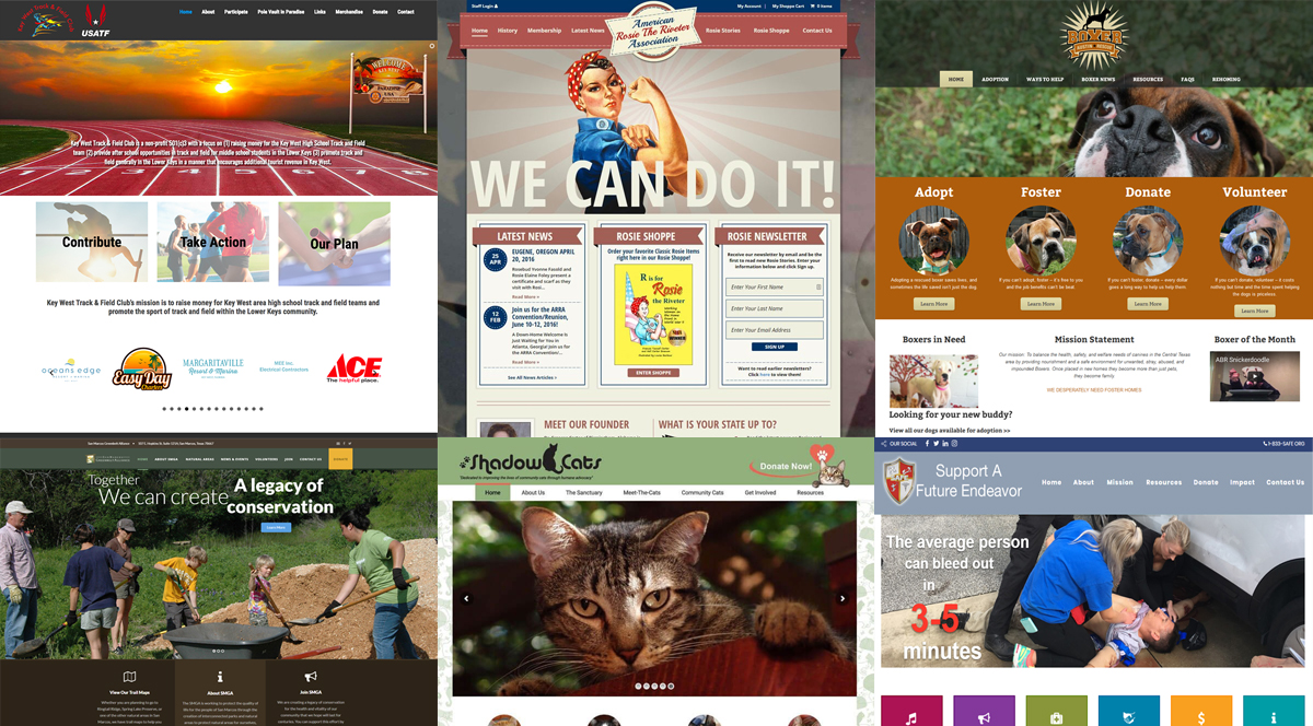 Web Design For Austin Nonprofits